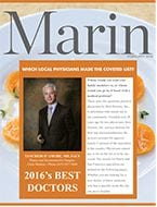 Top Doctors 2016 Marin Magazine