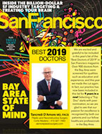 Top Doctors 2018 San Francisco Magazine